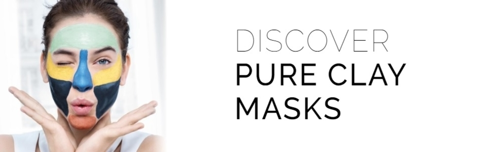 loreal paris pure clays masks