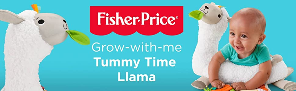 Fisher Price Tummy Time Llama - (Grow-with-Me) Tummy Time Llama Ad