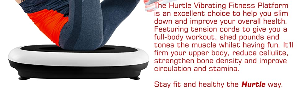 Amazon.com: Hurtle Vibration Platform Fitness Exercise ...