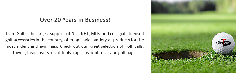 Golf, Team, Sports, Fan, NCAA, NFL, NHL, MLB, Football, Baseball, Hockey, Collegiate, Licensed, Gear