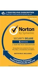 norton, deluxe, 5 device