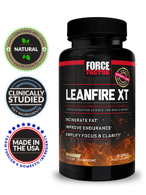 Lean fire xt force factor fat burner extreme thermogenic for women diet pill for men weight loss