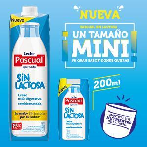 Leche Pascual sin lactosa 200ml