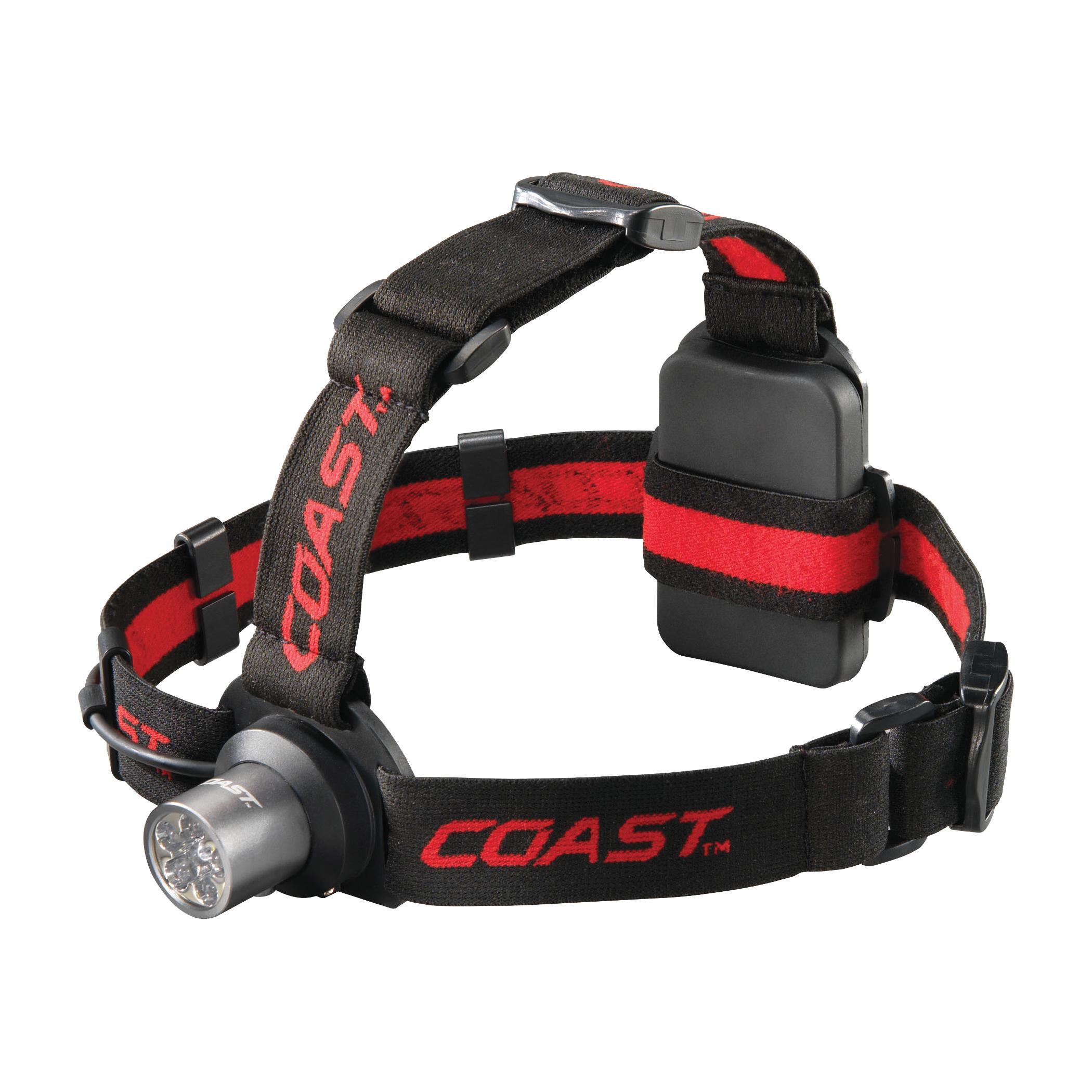 coast hl5 175 lumen led headlamp