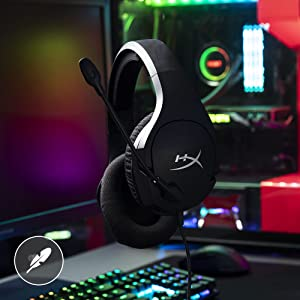 Audifonos para videojuegos para pc con cable microfono gaming accesorios PC