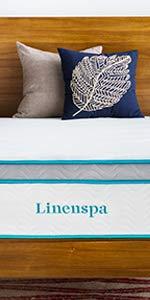 """Linenspa 12"""" Gel Memory Foam Hybrid Mattress"""