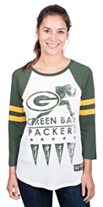 separation shoes 4e369 492d8 Amazon.com : Ultra Game NFL Green Bay Packers Women's Hockey ...