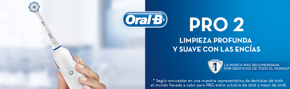 Cepillo eléctrico Oral-B PRO 2