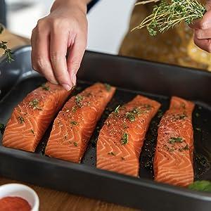 Fish Steak Salmon Lachs Grill