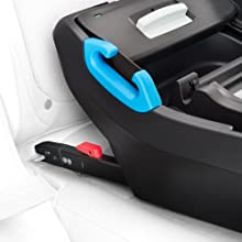Rigid LATCH connectors for an easy, safe, secure installation on the Clek Liing Infant Car Seat