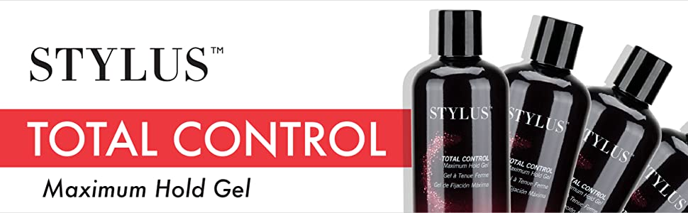 Amazon Com Fhi Heat Stylus Total Control Maximum Hold Hair Gel 8 Fl Oz Premium Beauty