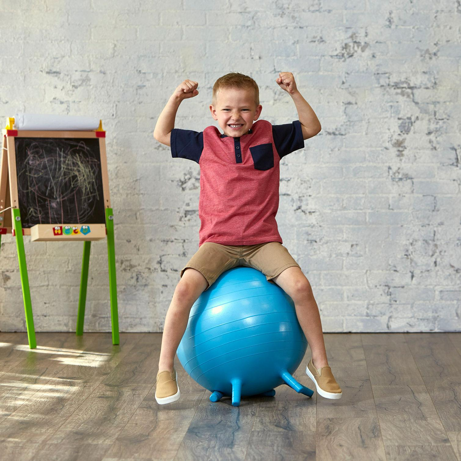What Size Exercise Ball For Sitting At Desk