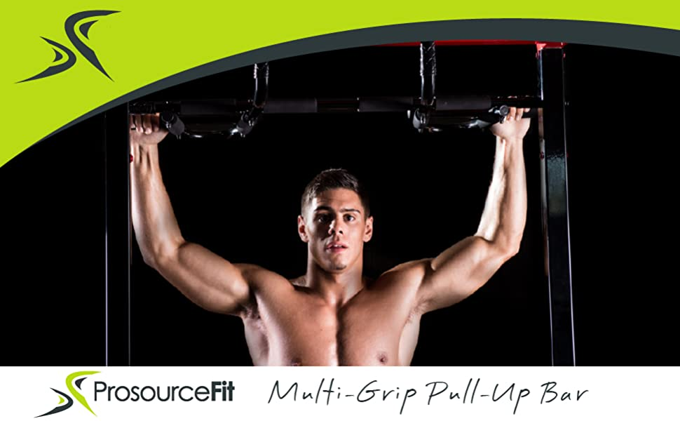 ProsourceFit Multi Grip Pull up bar