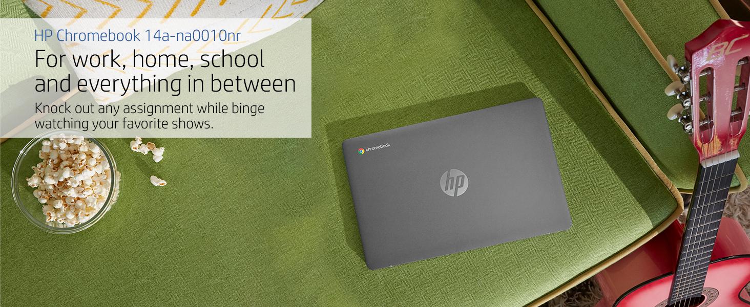 hp chromebook chrome 14a-na0010nr silver