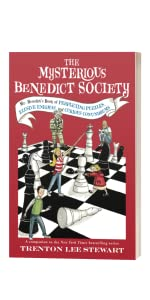 Mr. Benedict's Book of Perplexing Puzzles, Elusive Enigmas, and Curious by Trenton Lee Stewart