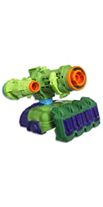 nerf mega elite accustrike stryfe doomlands blaster infinity war avengers marvel iron man hulk