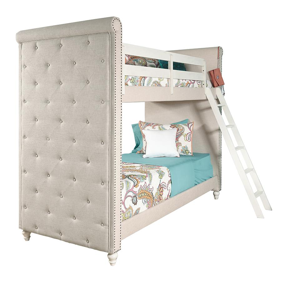 Amazon Com Pulaski Madison Girl S Youth Bunk Bed With Ladder