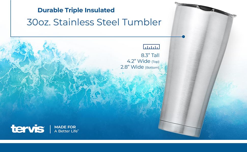 Tervis 30 oz Stainless Steel Tumbler