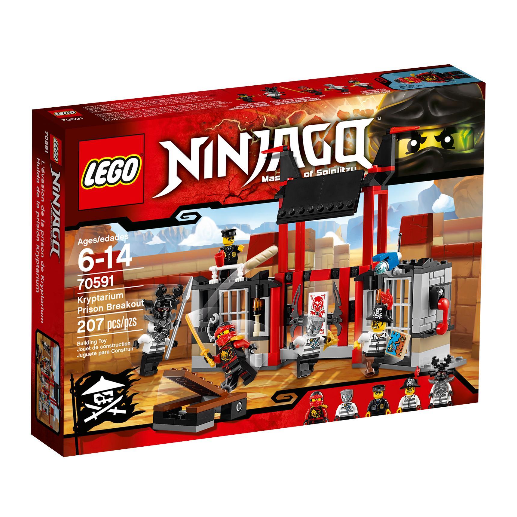 Amazoncom Lego Ninjago 70591 Kryptarium Prison Breakout Building