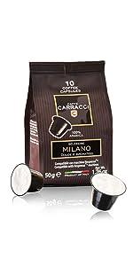 Capsule compatibili Nespresso Carracci Milano