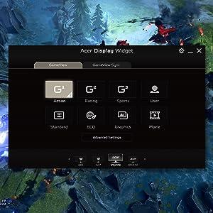 Acer Nitro XF250Q X Radeon FreeSync 240Hz Gaming HDR Ready 0.3ms Monitor Display
