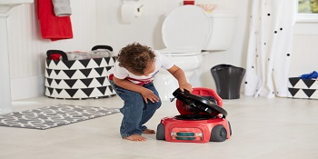 the First years racer potty system