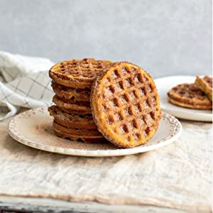 Snickerdoodle Chaffles