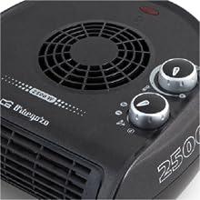 radiador aire caliente, estufa electrica, estufa bano, calefactor electrico bajo consumo