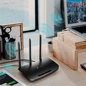 TP-link TL-WR940N Router 450Mbps Wi-Fi WiFi Wireless Speed Coverage Range Network Antenna