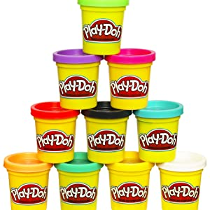 Play-Doh, color surtido, Pack 20 Botes (Hasbro A7924EUC): Amazon.es: Juguetes y juegos