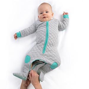 sleepsie cosy winter romper pajamas PJs