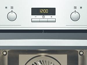 Electrolux EOB2430BOX Horno Multifunción, Limpieza Aqua Clean, Cavidad XXL, Display LED, Mandos Escamoteables, Puerta 2 cristales, Antihuellas, Carriles telescópicos, Inox, Clase A+, 72 L: 237.16: Amazon.es: Grandes electrodomésticos