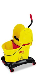 WaveBrake Bucket/Wringer Combos, WaveBrake Dual-Water Dolly Systems, WaveBrake Dual-Water Trolley Systems, All-in-One Tandem Mop Bucket & Wringer ...