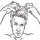 set wet hair gel; cool hold hair gel; hair gel; hair gel tube; men hair gel tube;hair styling;hair