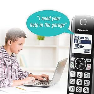 Panasonic KX-TGF545B voice paging