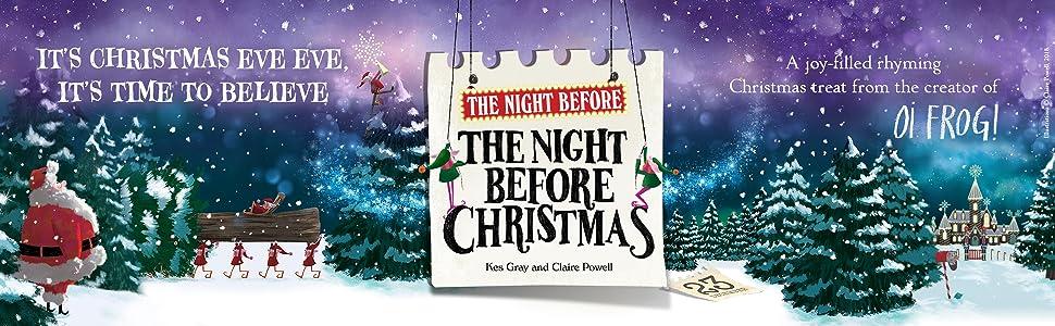 The Night Before Christmas, Santa Claus, Christmas Eve Eve, North Pole