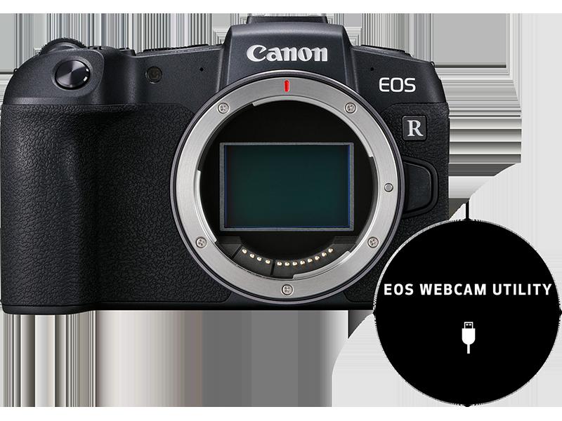 Canon Eos Rp Systemkamera Mit Vollformat Sensor Kamera