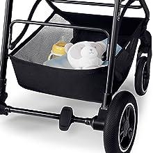 Kinderkraft Stroller ALLROAD Pushchair Baby Buggy Two Pushing Directions Grey