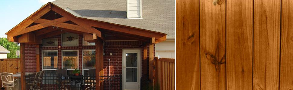 Ready seal 512 5 gallon pail natural cedar exterior wood - Best exterior wood stain reviews ...