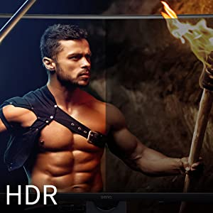 Hyper-Realistic Video Quality with HDR (BenQ EX3501R)