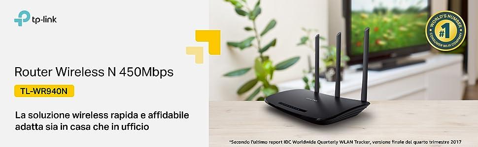 TL-WR940N, routerwireless, connessione wi-fi, internet, TP-Linik