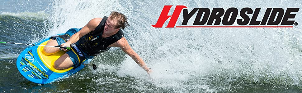 hydroslide, hydro slide, revolution, kneeboard, hydroslide kneeboard, boating, watersports,