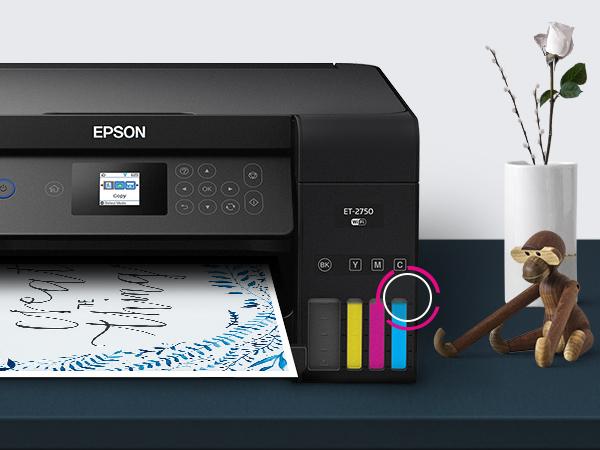 et-2750, ecotank, supertankprinter, shaq, supertank, ecotank bottle ink, home printer