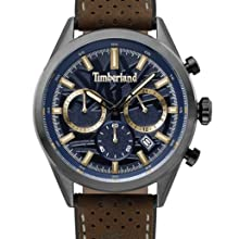 Confesión menú entrar  Timberland Mens Analogue Classic Quartz Watch with Leather Strap TBL.15516JS /03: Amazon.co.uk: Watches