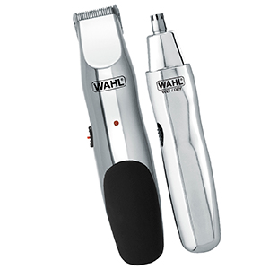 Wahl Clipper Battery Beard Trimmer Groomsman Mustache Nose Hair Trimming Detail Grooming