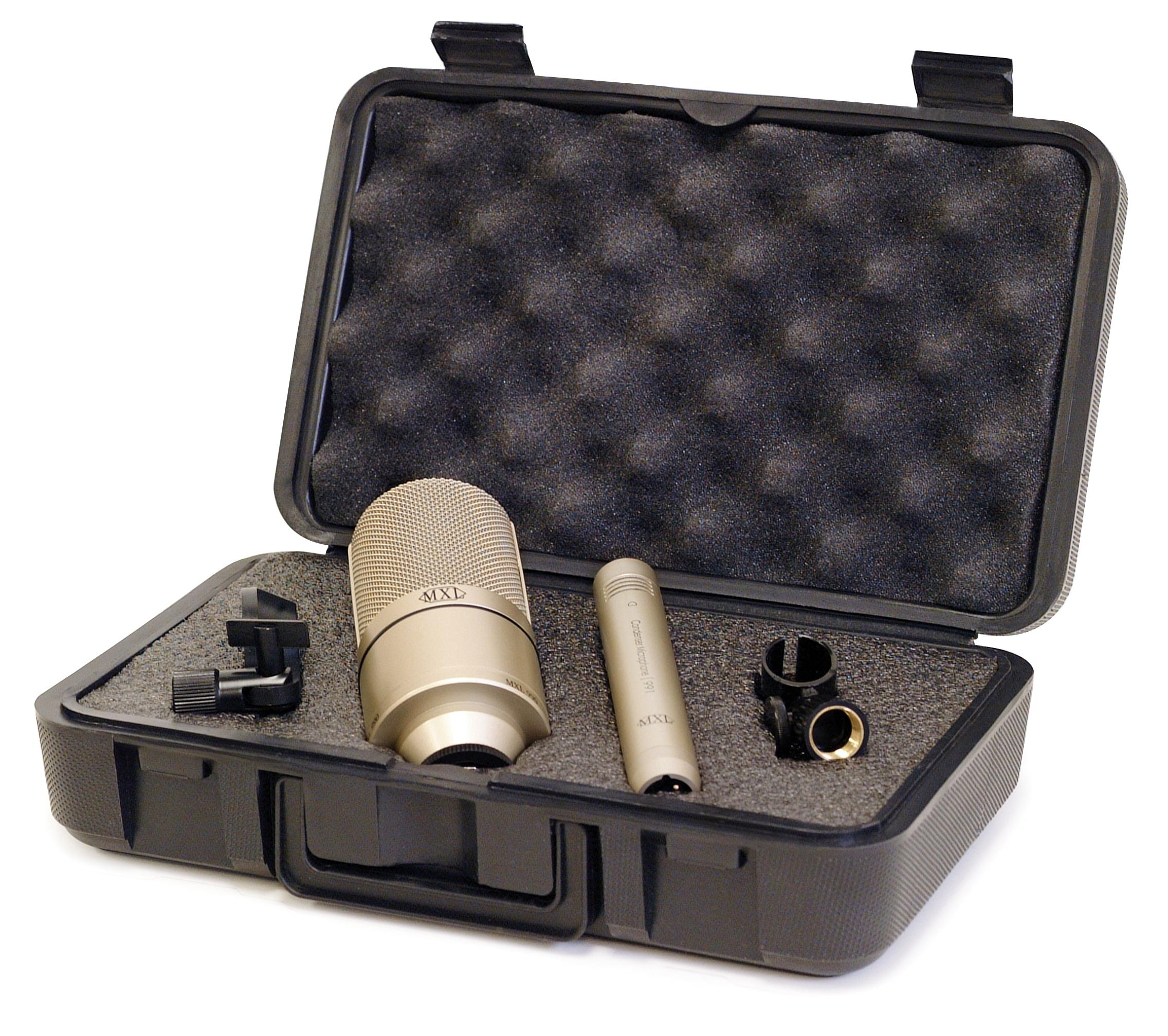 mxl 990 991 recording condenser microphone package musical instruments. Black Bedroom Furniture Sets. Home Design Ideas