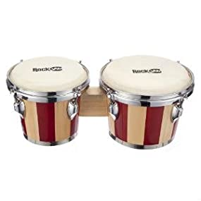 Product Red and Nat Bongo Drum