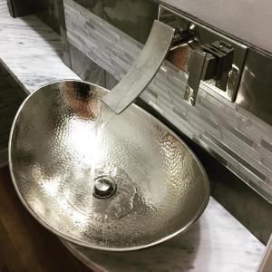 nickel, sink, sinkology, bath, bathroom
