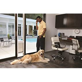 Amazon petsafe freedom aluminum patio panel sliding glass dog patio panel pet door dog cat sliding glass door petsafe ideal planetlyrics Images