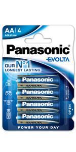 Panasonic Blister 2 Pilas Alcalina LR20 EVOLTA: Amazon.es: Electrónica